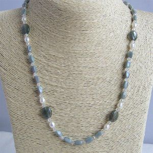 3 for $25 Necklace Pearls Multi Shaped Glass Beads